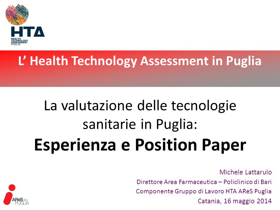 L' Health Technology Assessment in Puglia