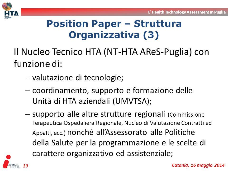Position Paper – Struttura Organizzativa (3)