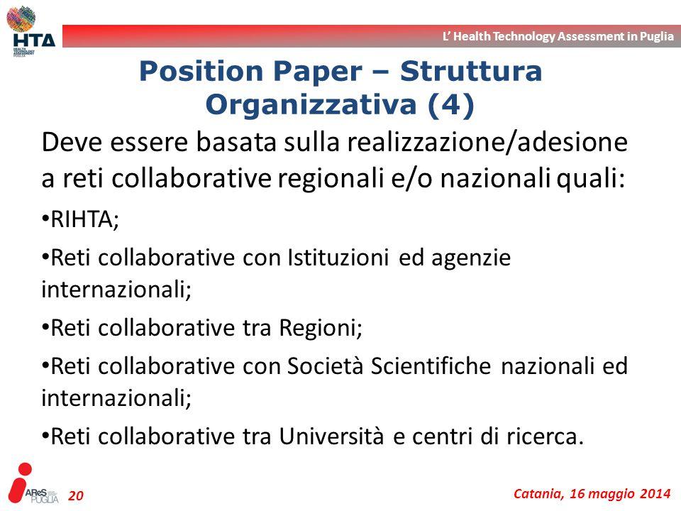 Position Paper – Struttura Organizzativa (4)