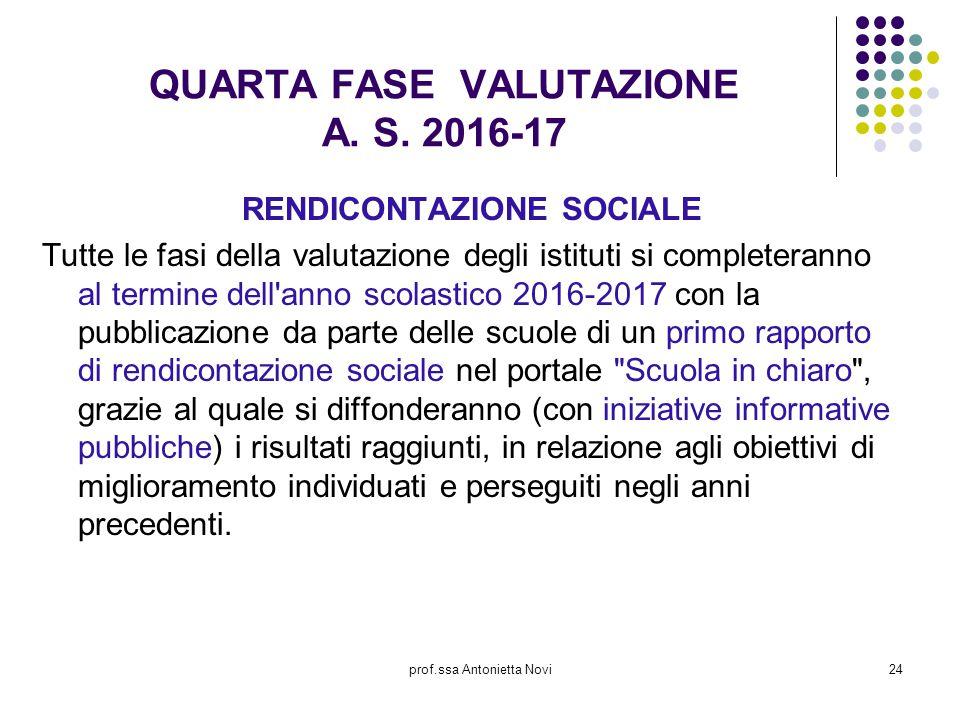 QUARTA FASE VALUTAZIONE A. S. 2016-17