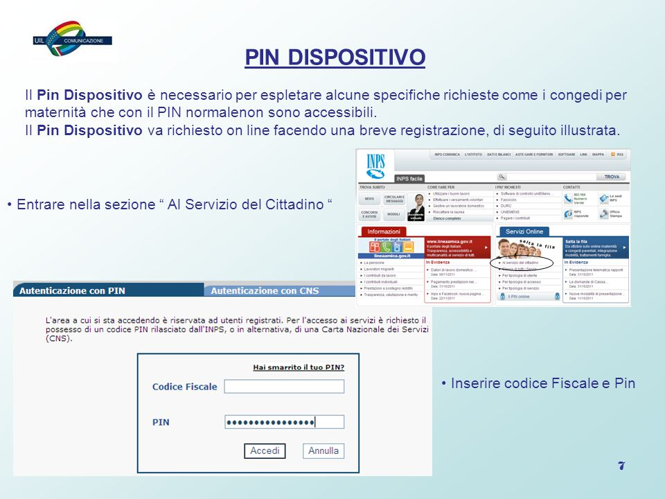 PIN DISPOSITIVO