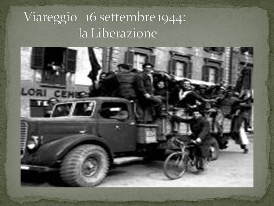 Viareggio 16 settembre 1944: la Liberazione