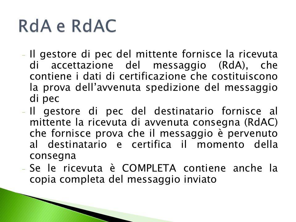 RdA e RdAC
