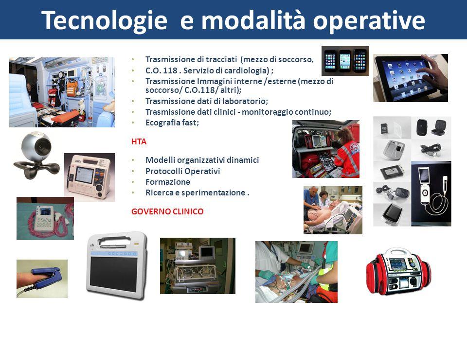 Tecnologie e modalità operative
