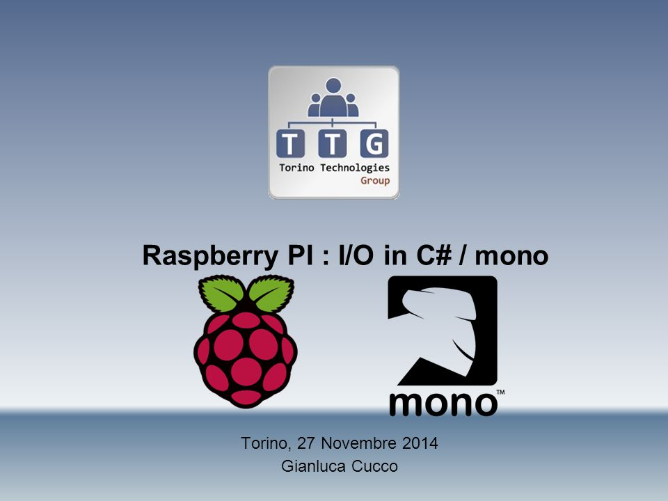 Raspberry PI : I/O in C# / mono