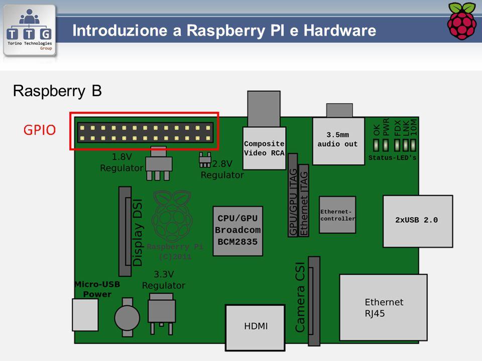 Introduzione a Raspberry PI e Hardware