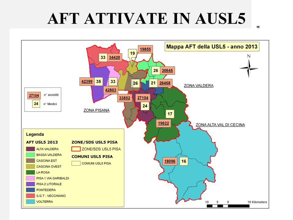 AFT ATTIVATE IN AUSL5