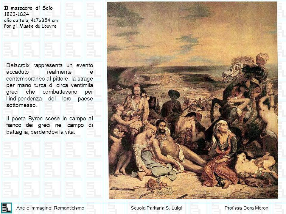 Il massacro di Scio 1823-1824. olio su tela, 417x354 cm. Parigi, Musée du Louvre.