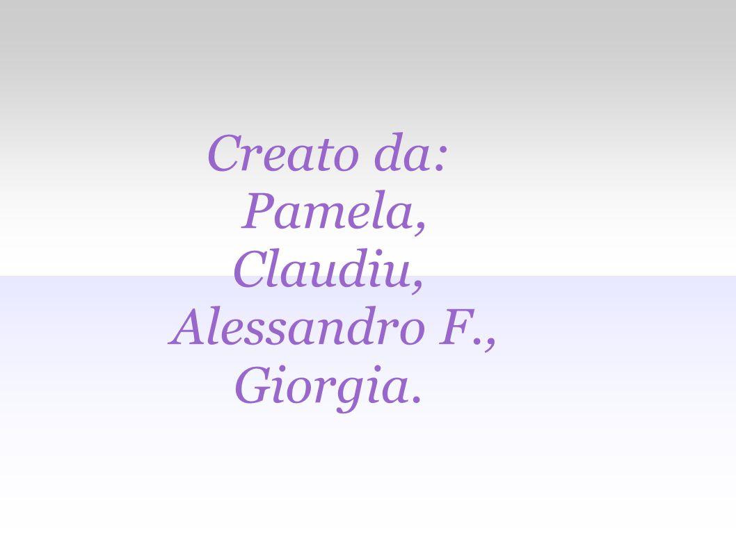 Creato da: Pamela, Claudiu, Alessandro F., Giorgia.