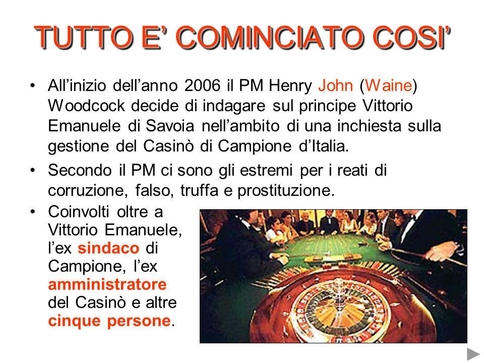 TUTTO E' COMINCIATO COSI'