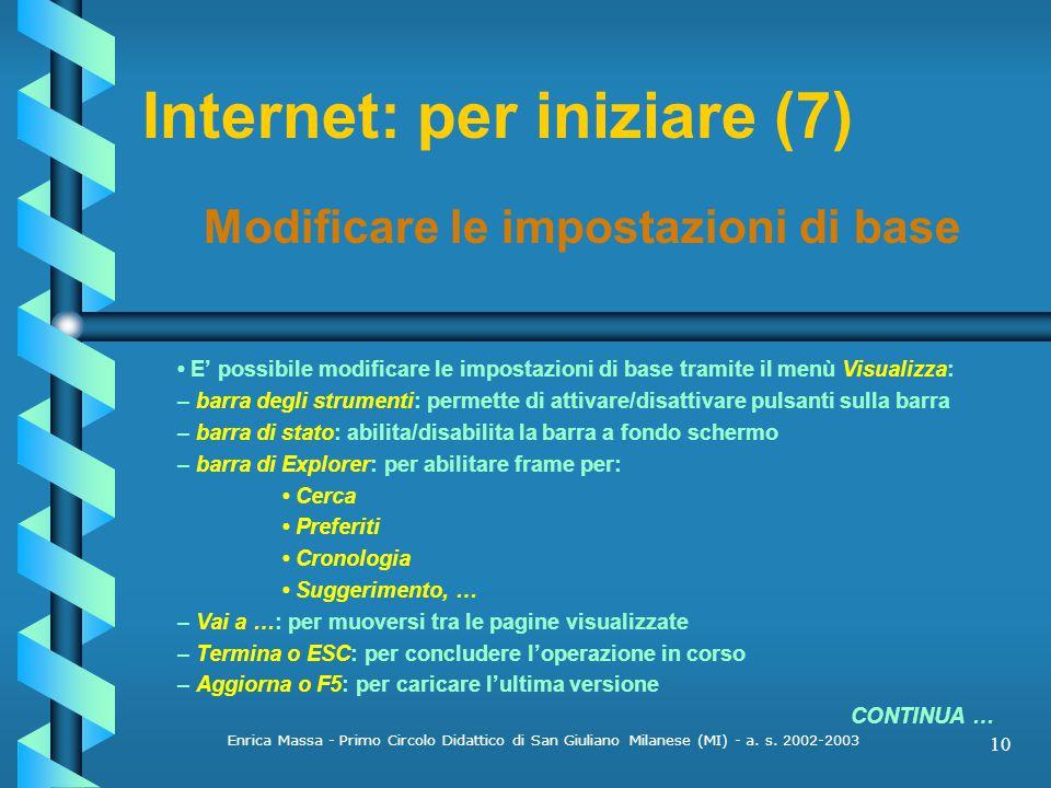 Internet: per iniziare (7)