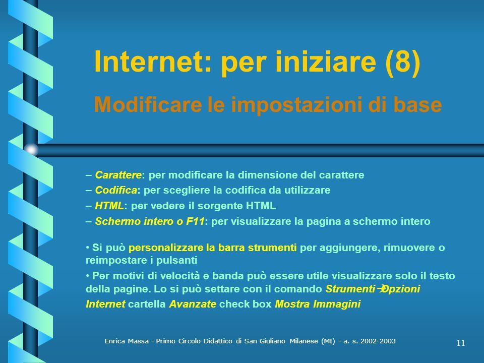 Internet: per iniziare (8)