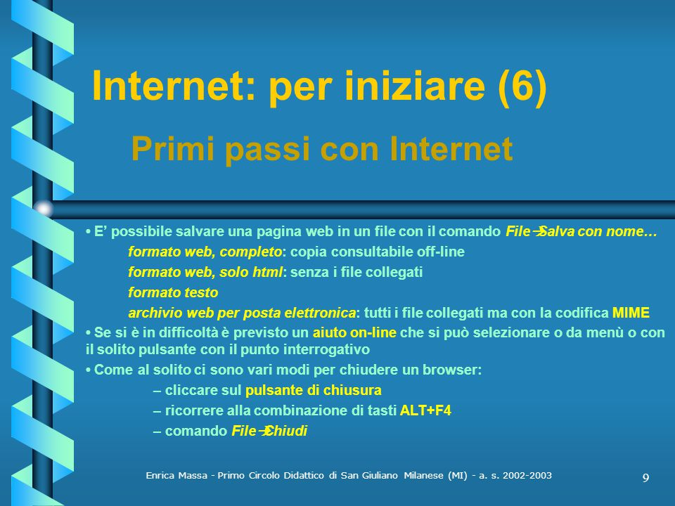 Internet: per iniziare (6)