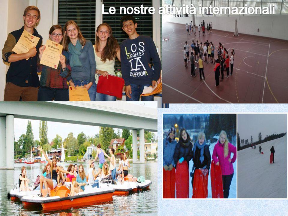 Le nostre attività internazionali