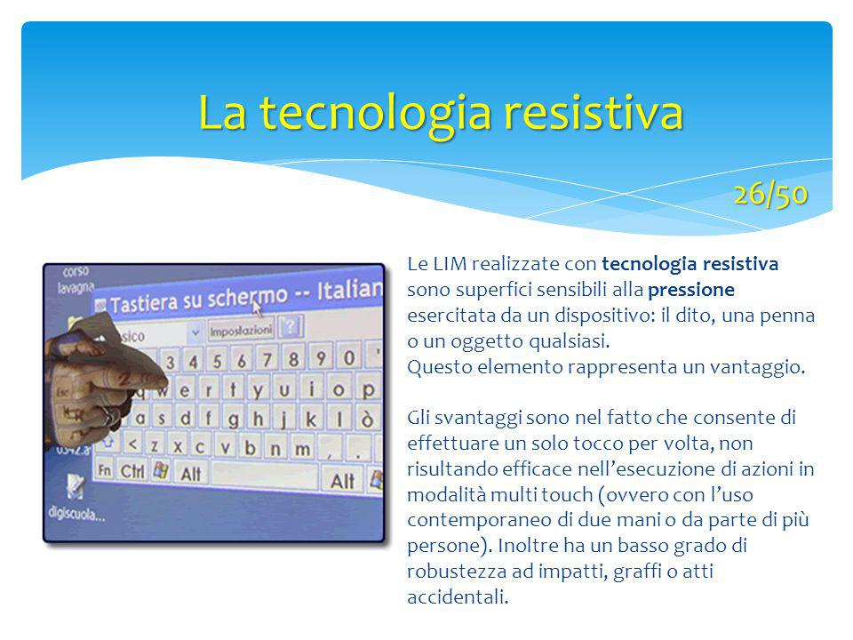 La tecnologia resistiva
