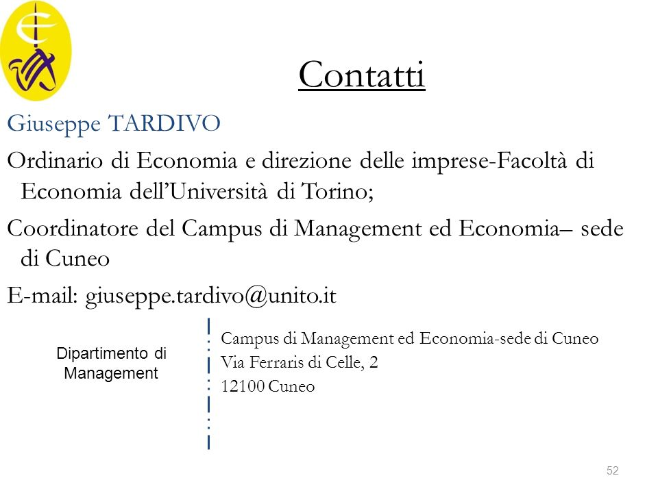 Dipartimento di Management