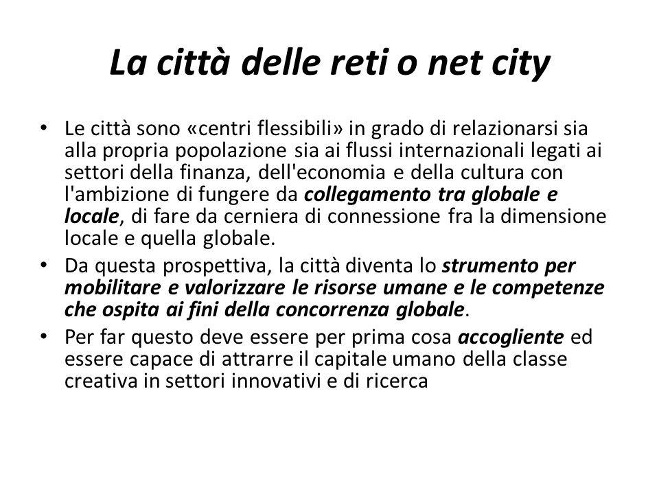 La città delle reti o net city
