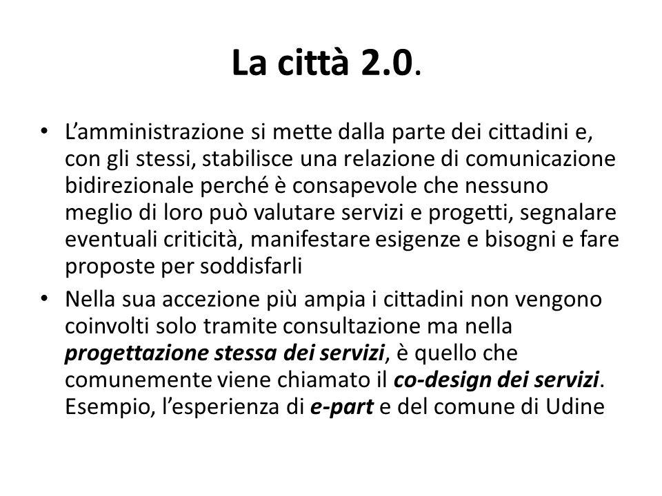 La città 2.0.