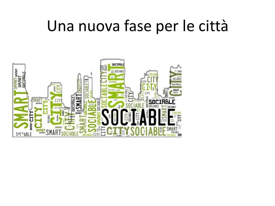 Una nuova fase per le città