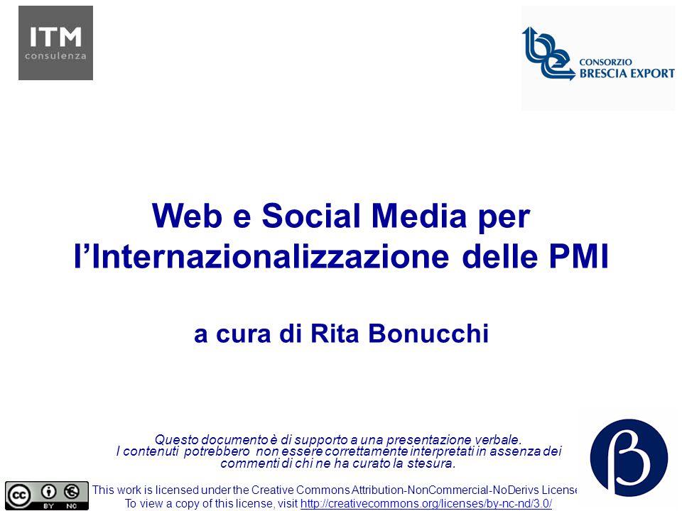 Web e Social Media per l'Internazionalizzazione delle PMI