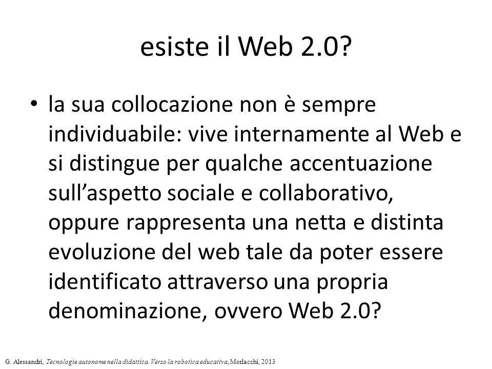 esiste il Web 2.0