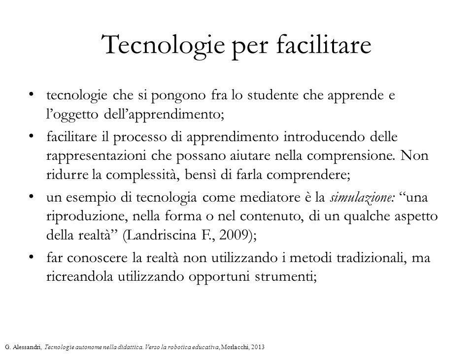 Tecnologie per facilitare
