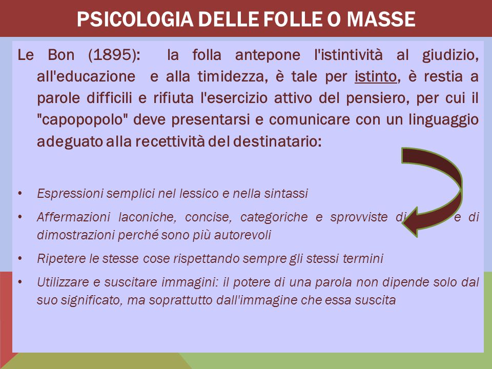 Psicologia delle FoLLe o masse