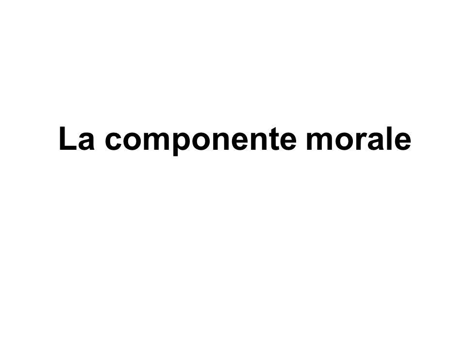 La componente morale