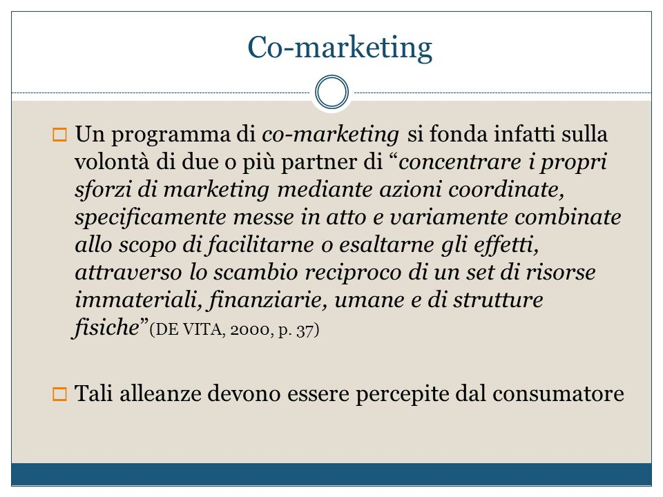 Co-marketing