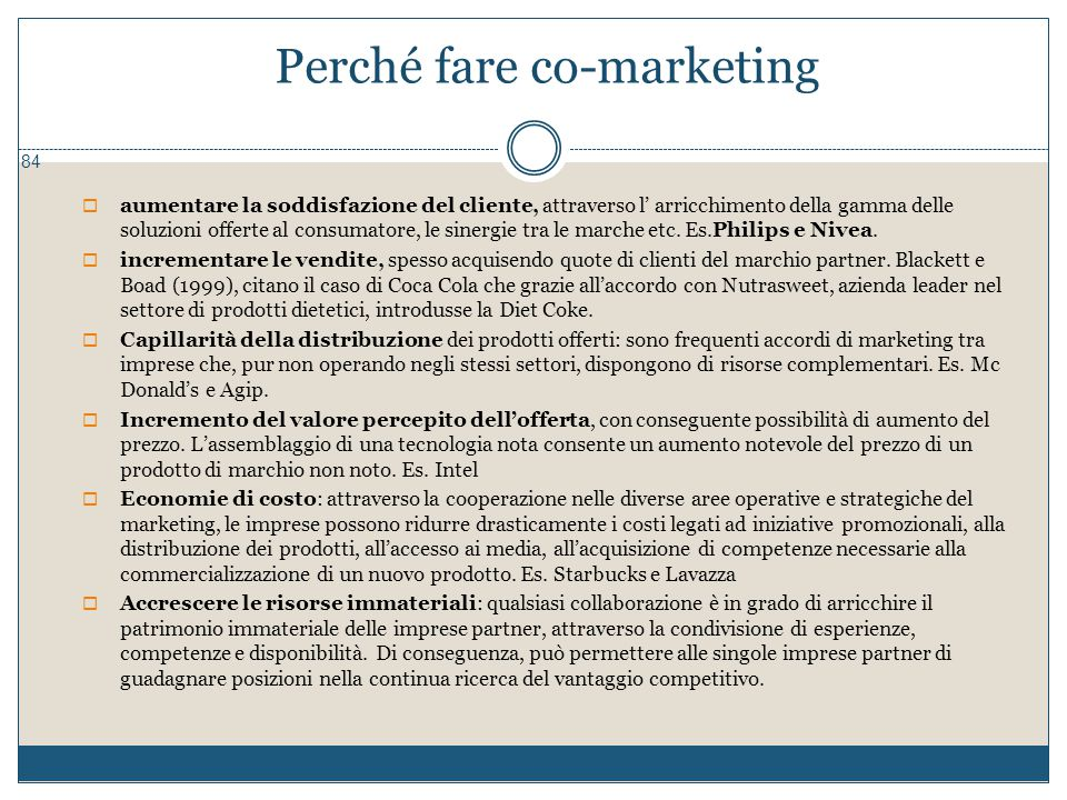Perché fare co-marketing