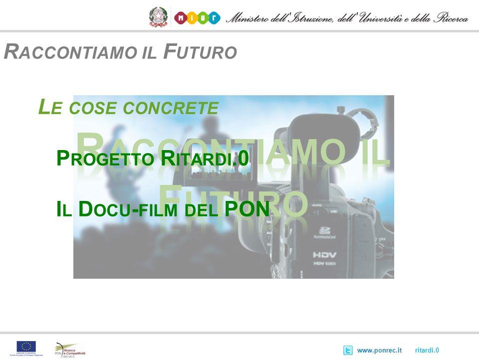 Raccontiamo il Futuro Raccontiamo il Futuro Le cose concrete
