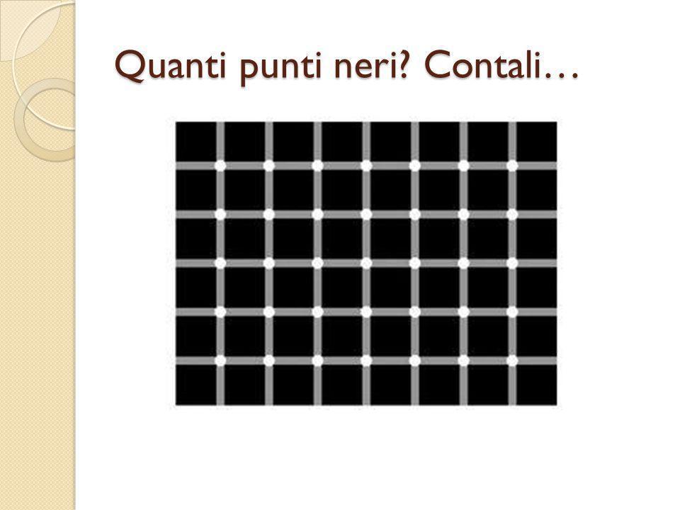 Quanti punti neri Contali…