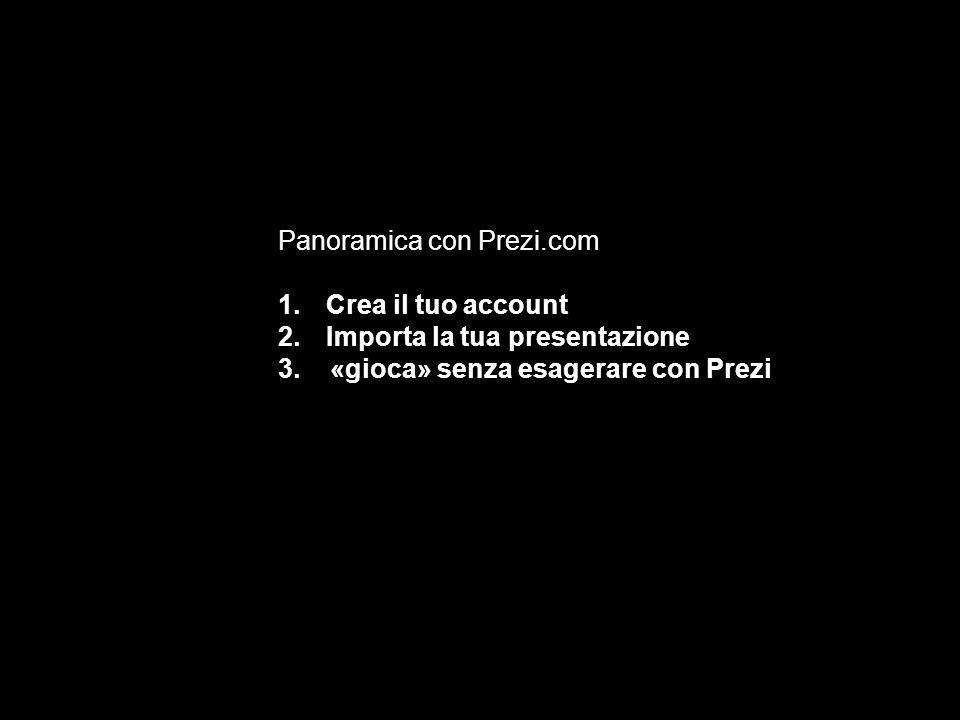 Panoramica con Prezi.com