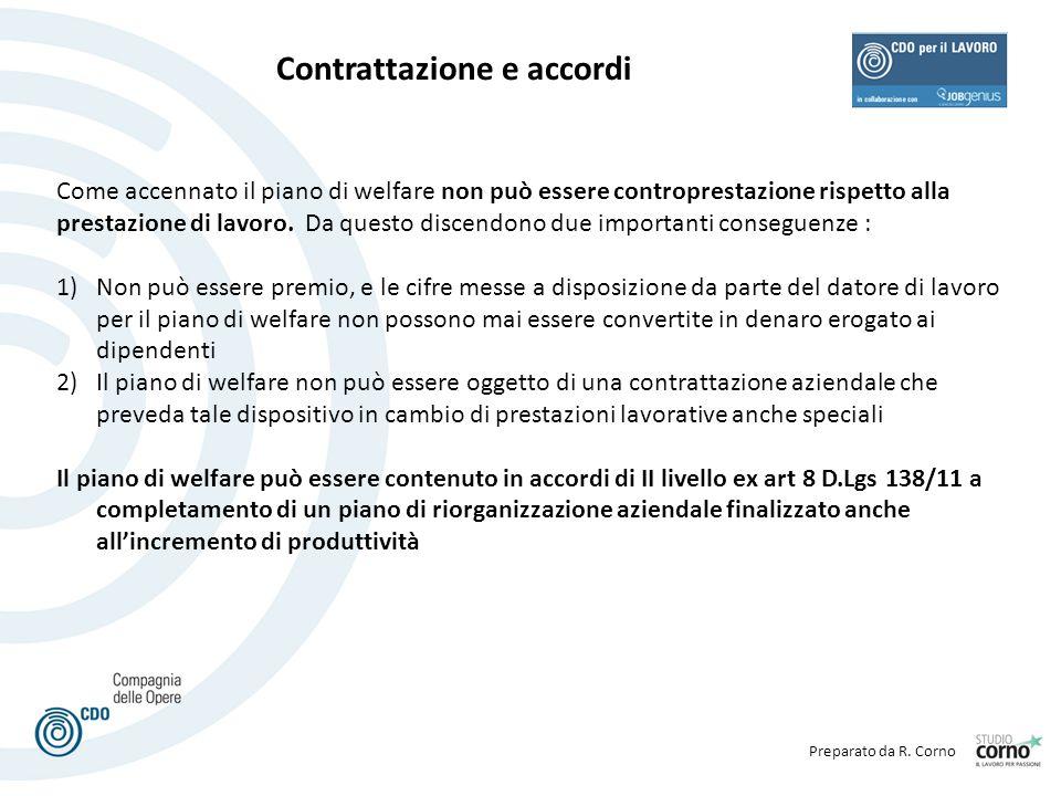Contrattazione e accordi