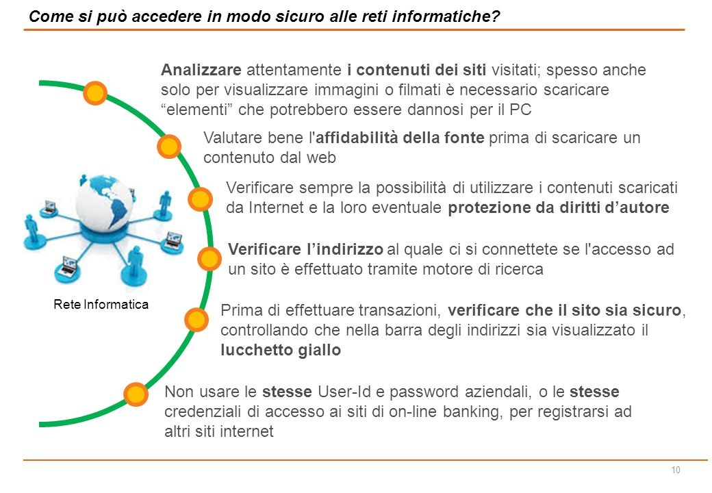 Come si può accedere in modo sicuro alle reti informatiche