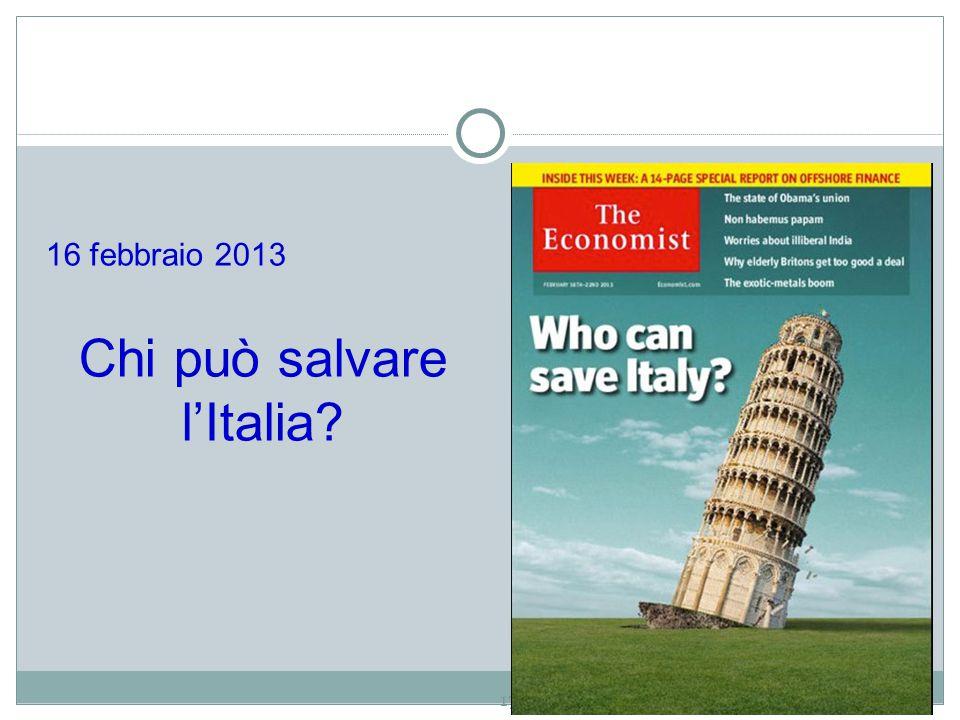Chi può salvare l'Italia