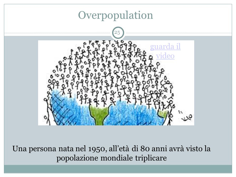 Overpopulation guarda il video