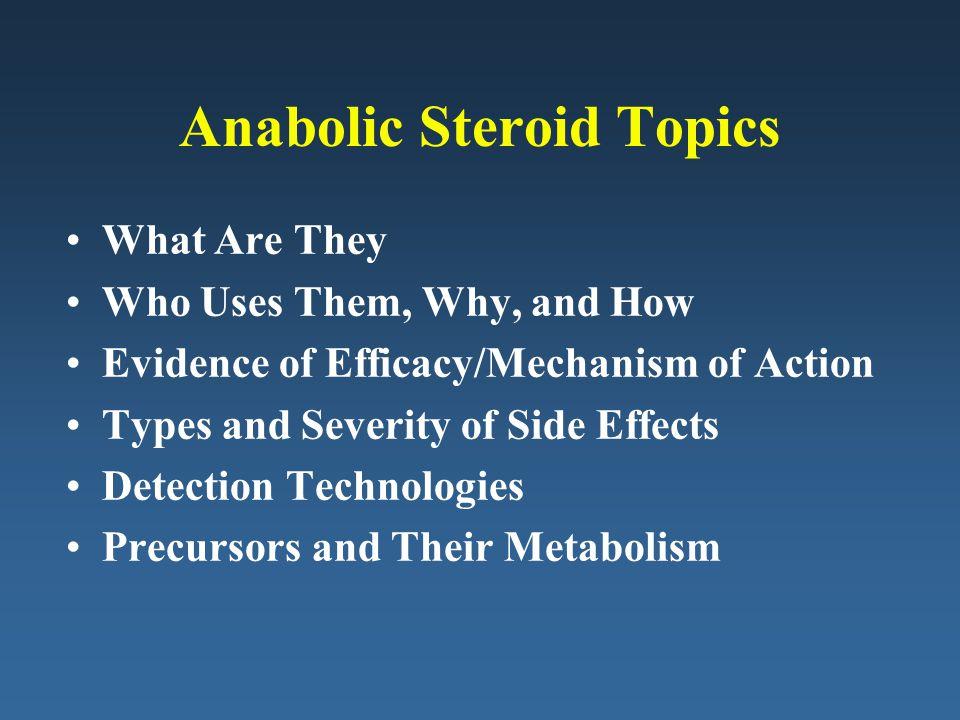 Anabolic Steroid Topics