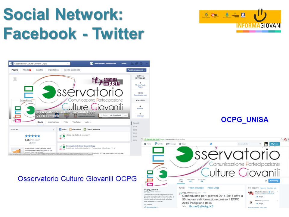Social Network: Facebook - Twitter