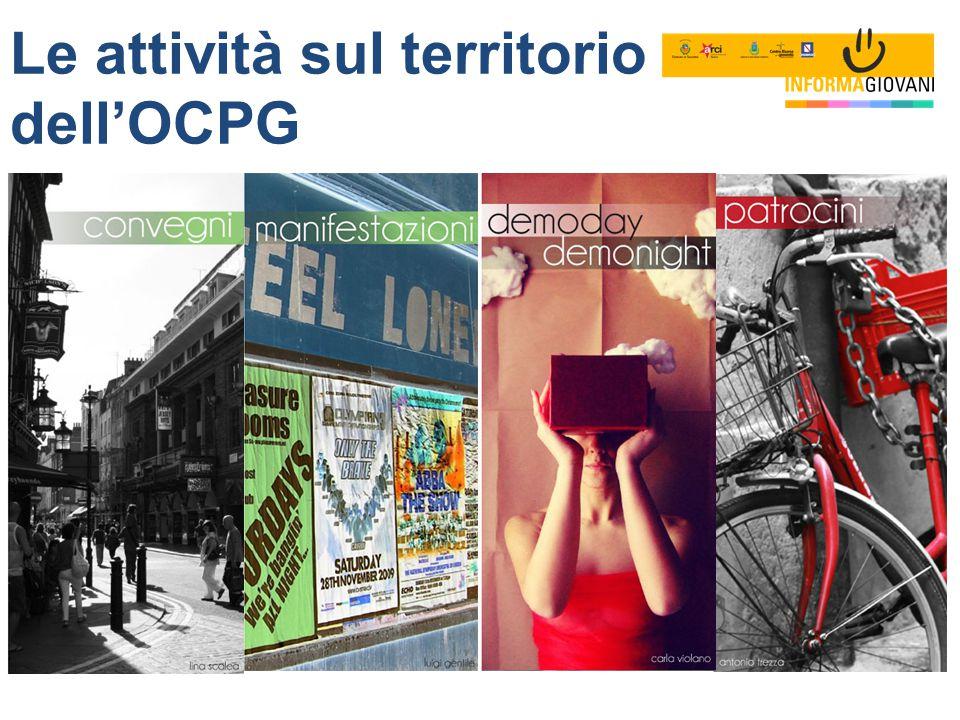 Le attività sul territorio dell'OCPG
