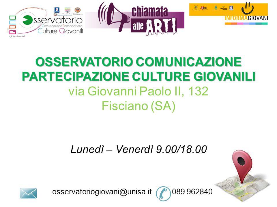 osservatoriogiovani@unisa.it 089 962840
