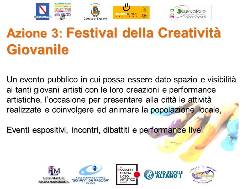 Azione 3: Festival della Creatività Giovanile