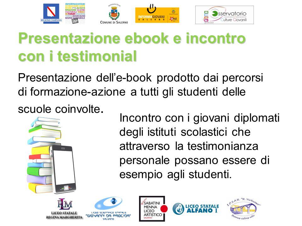 Presentazione ebook e incontro con i testimonial