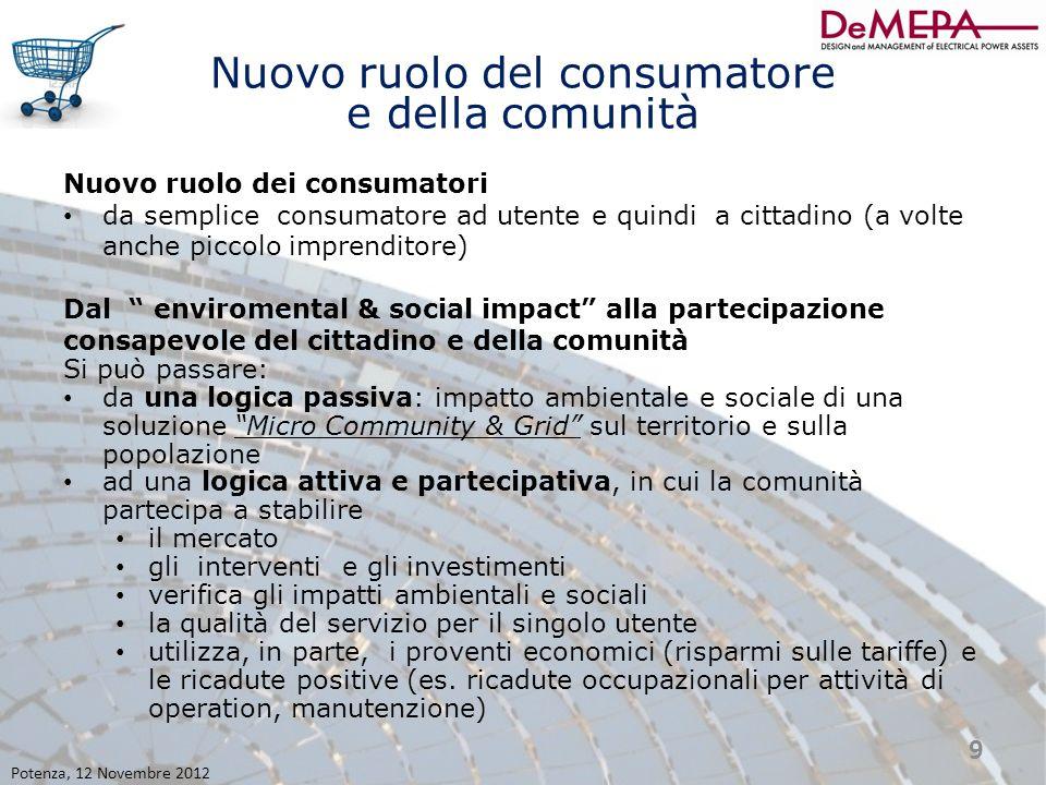 Nuovo ruolo del consumatore e della comunità