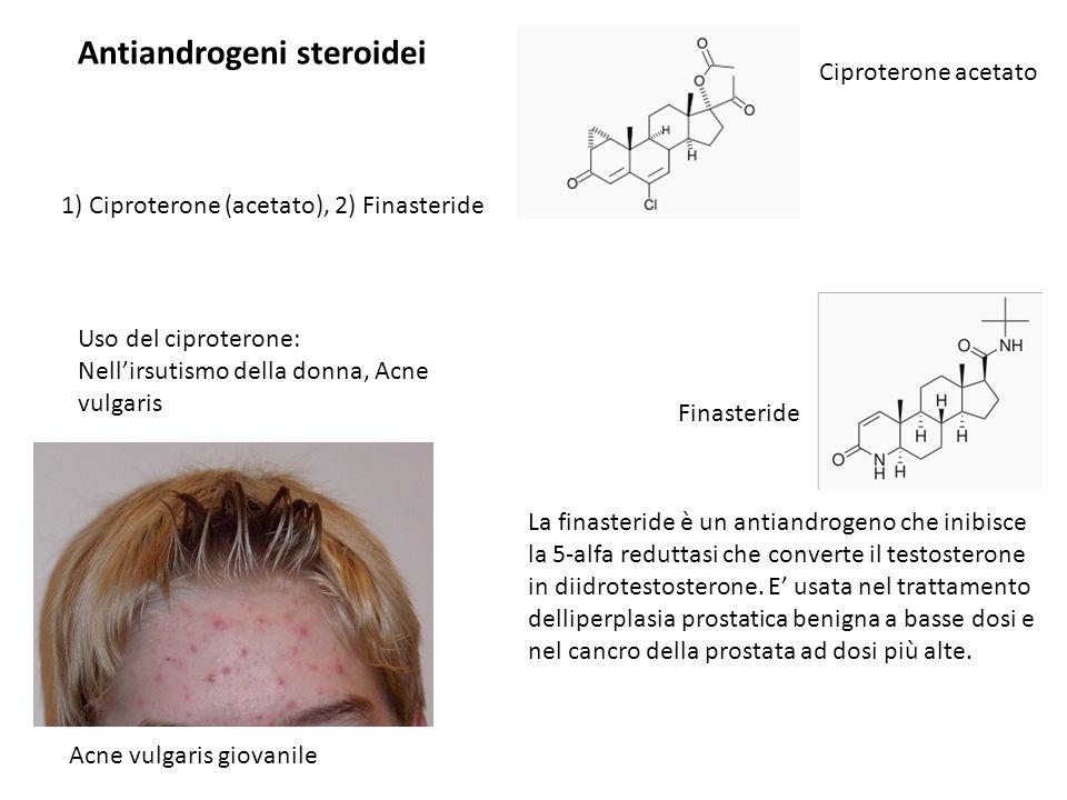 Antiandrogeni steroidei