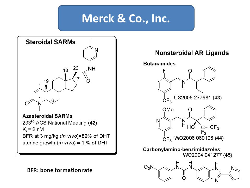 Merck & Co., Inc. BFR: bone formation rate