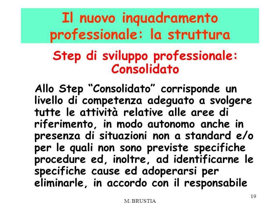 Il nuovo inquadramento professionale: la struttura