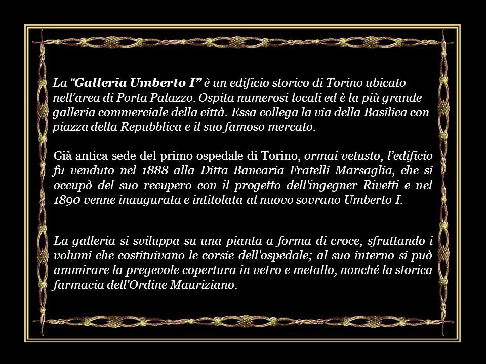 La Galleria Umberto I è un edificio storico di Torino ubicato nell'area di Porta Palazzo. Ospita numerosi locali ed è la più grande galleria commerciale della città. Essa collega la via della Basilica con piazza della Repubblica e il suo famoso mercato.
