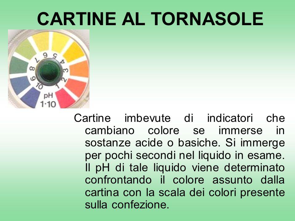 CARTINE AL TORNASOLE