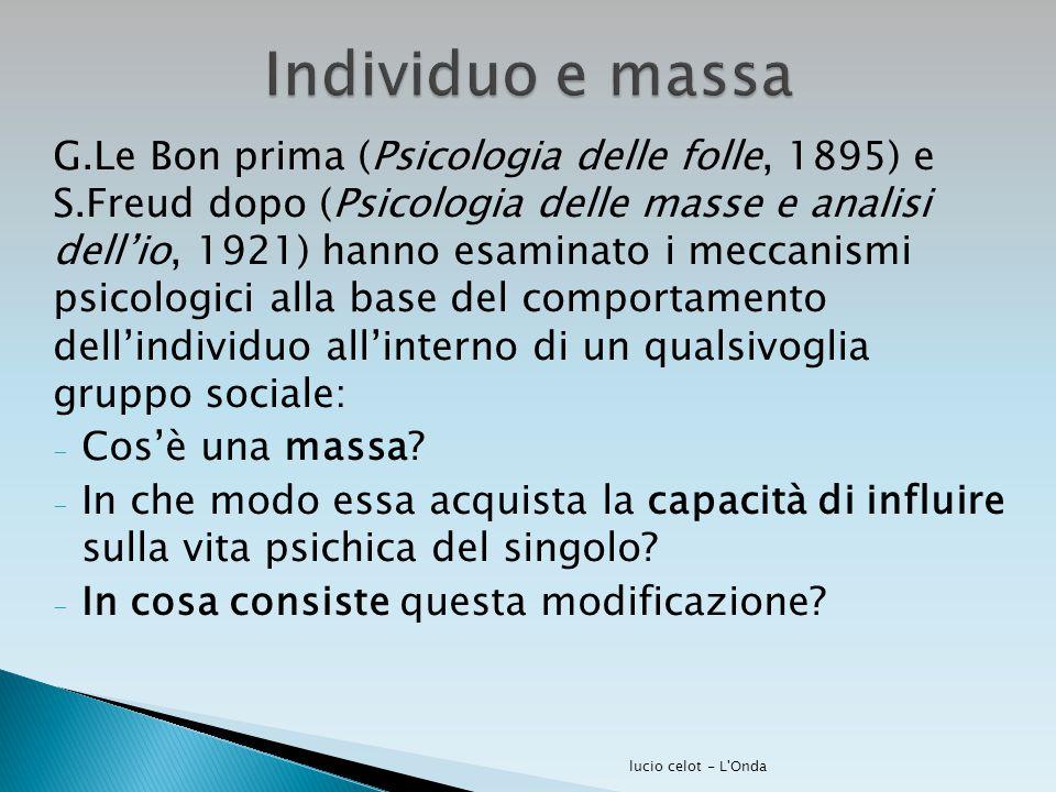 Individuo e massa